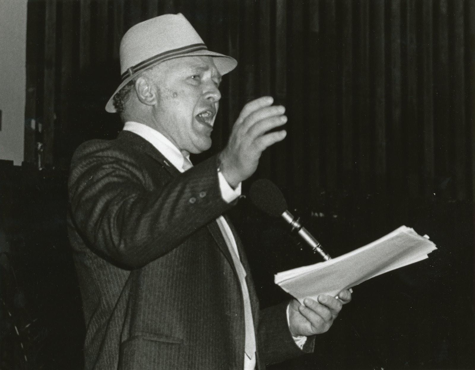 Ken Kesey, Miami Bookfair International, 1984.